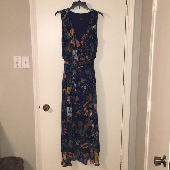 08d780dd388 Melrose maxi dress size 16 - navy floral